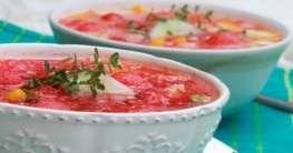 Spanische Honigmelonensuppe Rezept