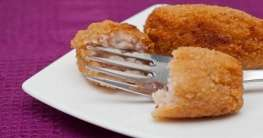 Kroketten mit Schinken und Huhn