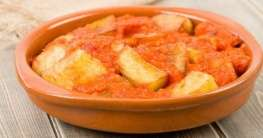 Kartoffel-Tapa mit scharfer Sauce Rezept