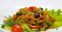Spanischer Fleischsalat