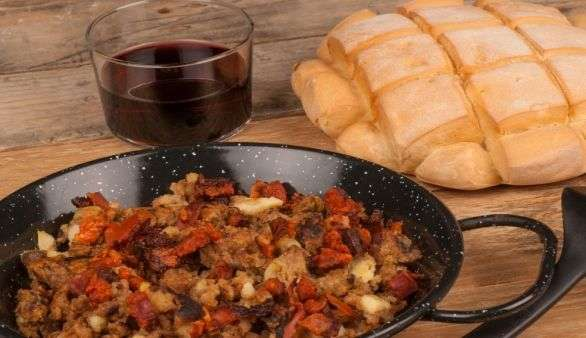 Chorizo Pfanne
