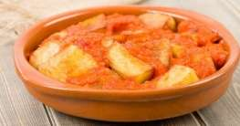 Kartoffel - Tapa mit scharfer Sauce Rezept