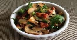 Champignons con Chorizo
