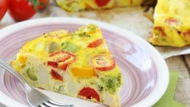 Gemüse-Tortilla