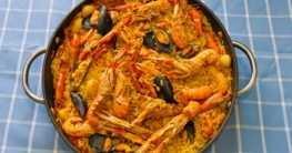 Paella valenciana Rezept